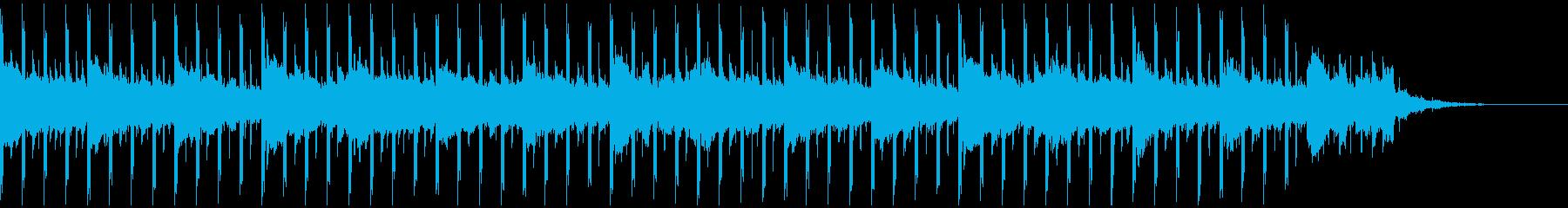 インタビュー(38秒)の再生済みの波形