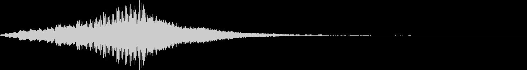 ホラー 近く 接近 恐怖 金属音 01の未再生の波形