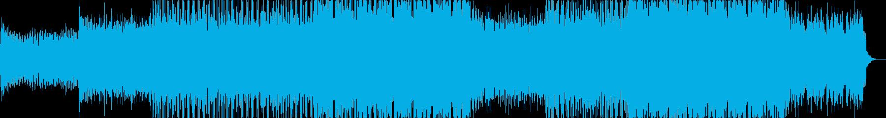 オープニング企業VPイベント-04の再生済みの波形