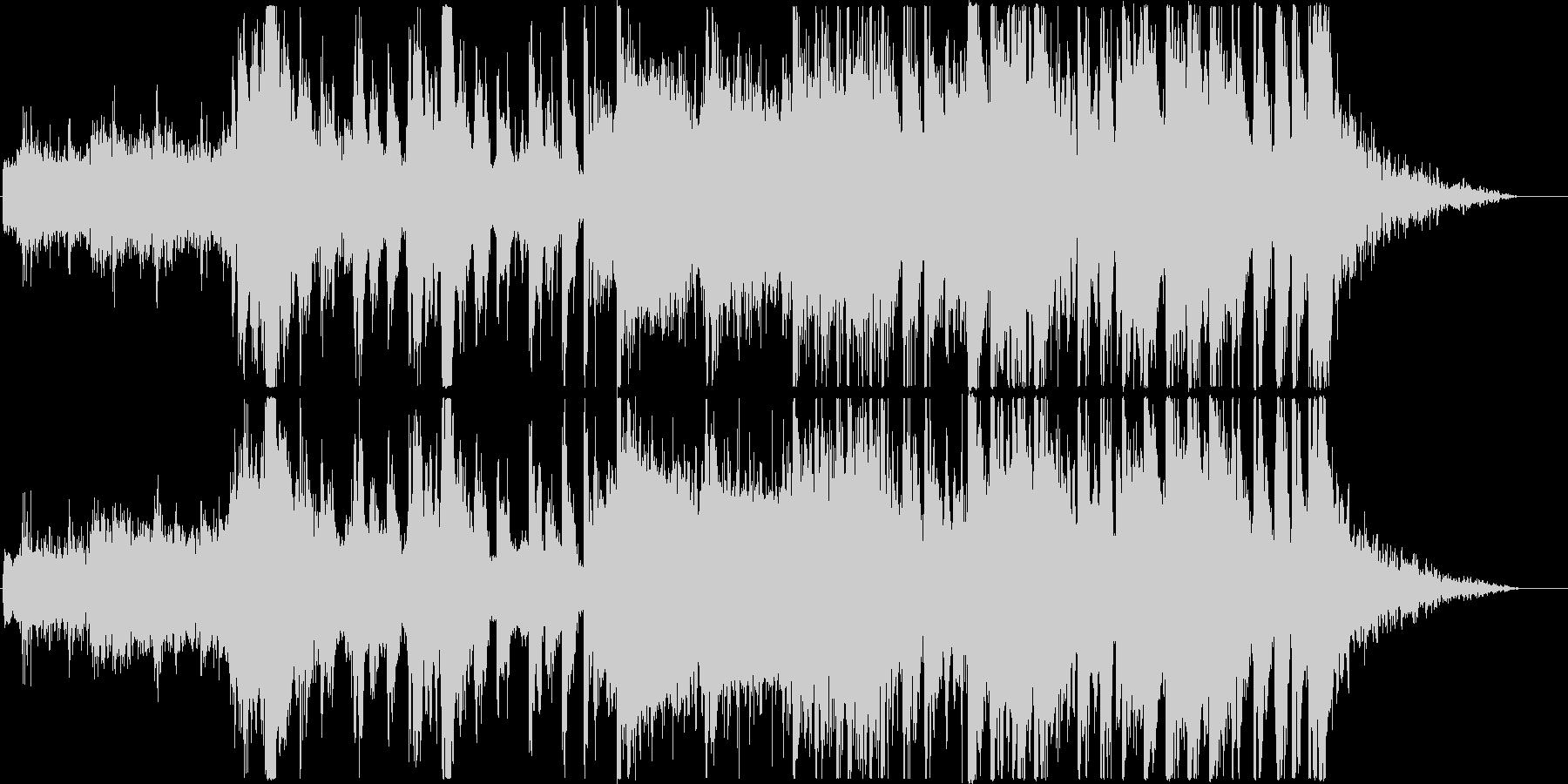 クールなハロウィンEDM_Vo有りの未再生の波形