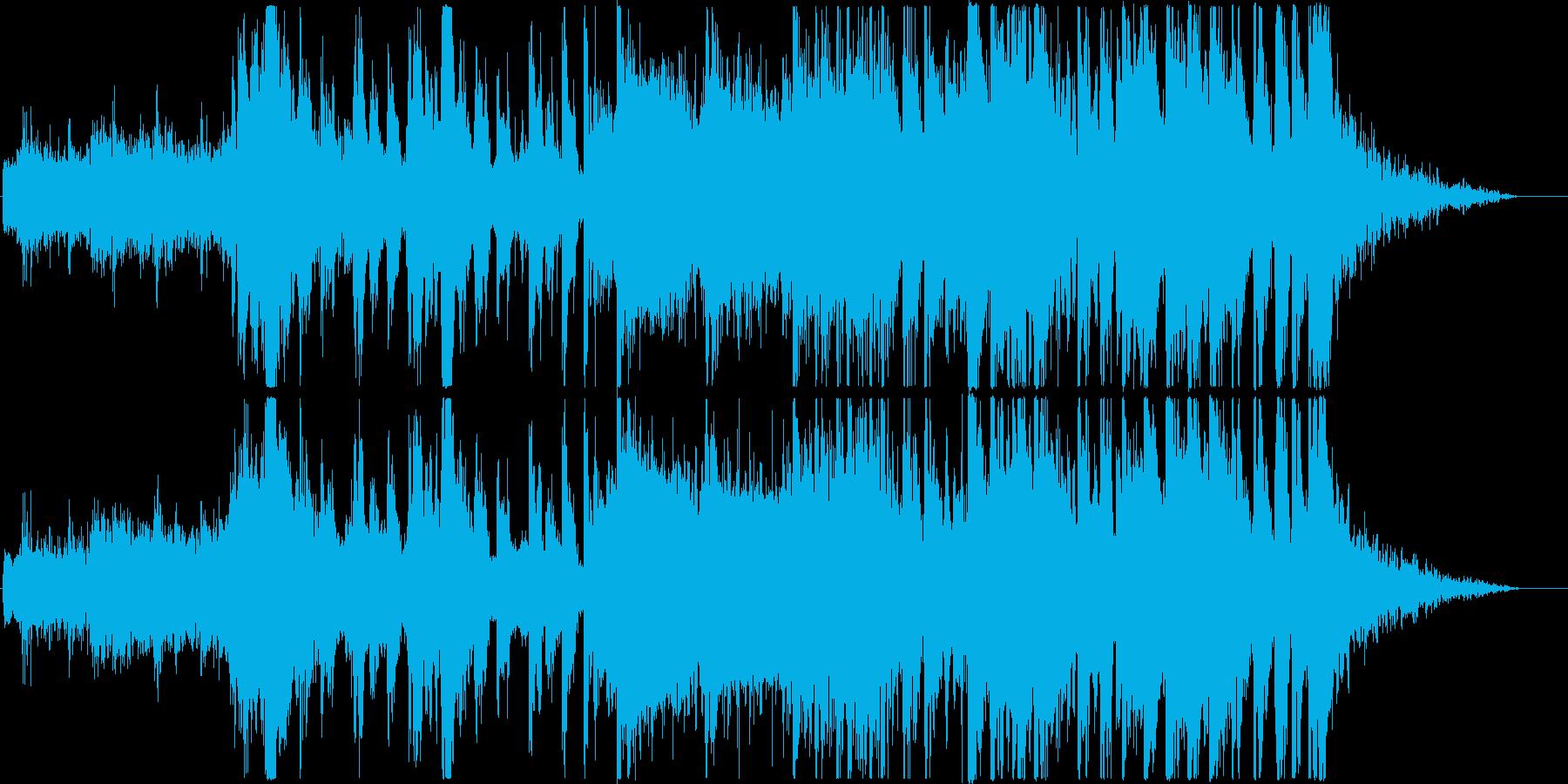 ハロウィンなブラックダンス曲の再生済みの波形