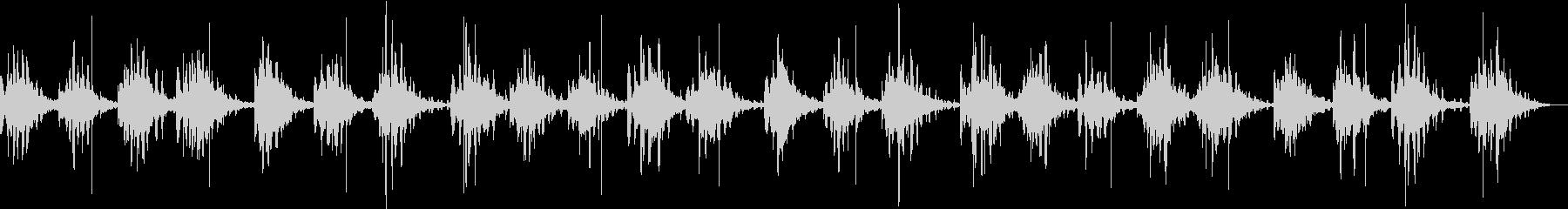 脳の活性化を促すヒーリングミュージックの未再生の波形