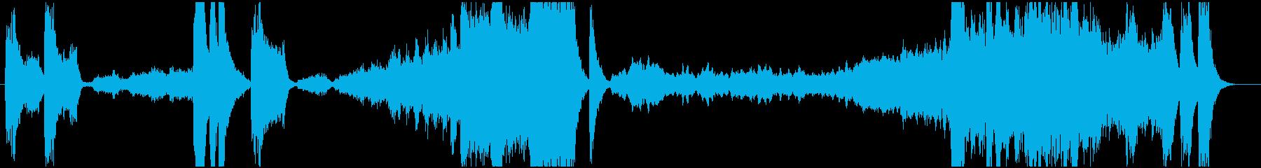 交響曲第5番 運命のオーケストラです。の再生済みの波形