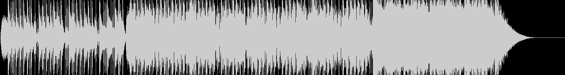 ポップなマーチング風の入場曲の未再生の波形