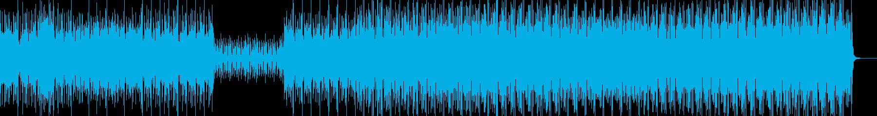 幻想的 平調子 筝 三味線 テクノの再生済みの波形