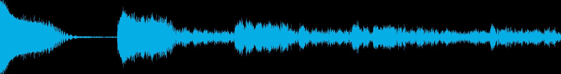 AMGアナログFX19の再生済みの波形