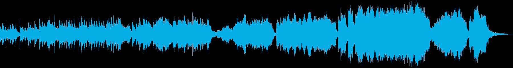 親子向けのヒストリー系音楽の再生済みの波形
