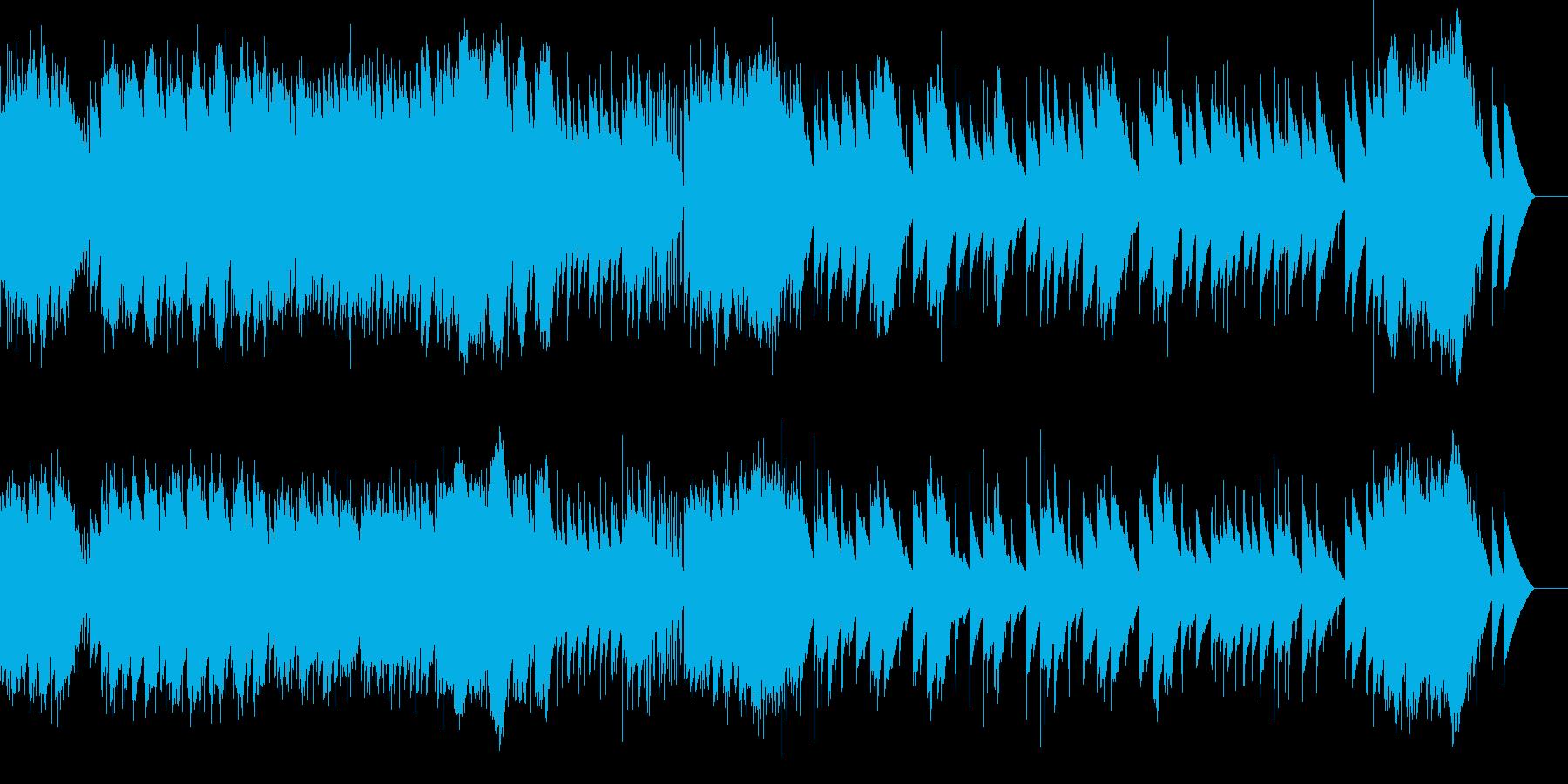 卒業式 威風堂々 エルガー(オルゴール)の再生済みの波形