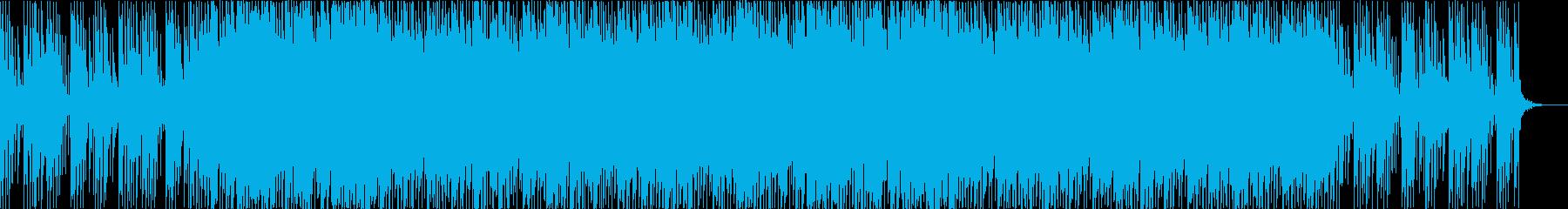 ベルとマリンバを使った優しいBGMです。の再生済みの波形