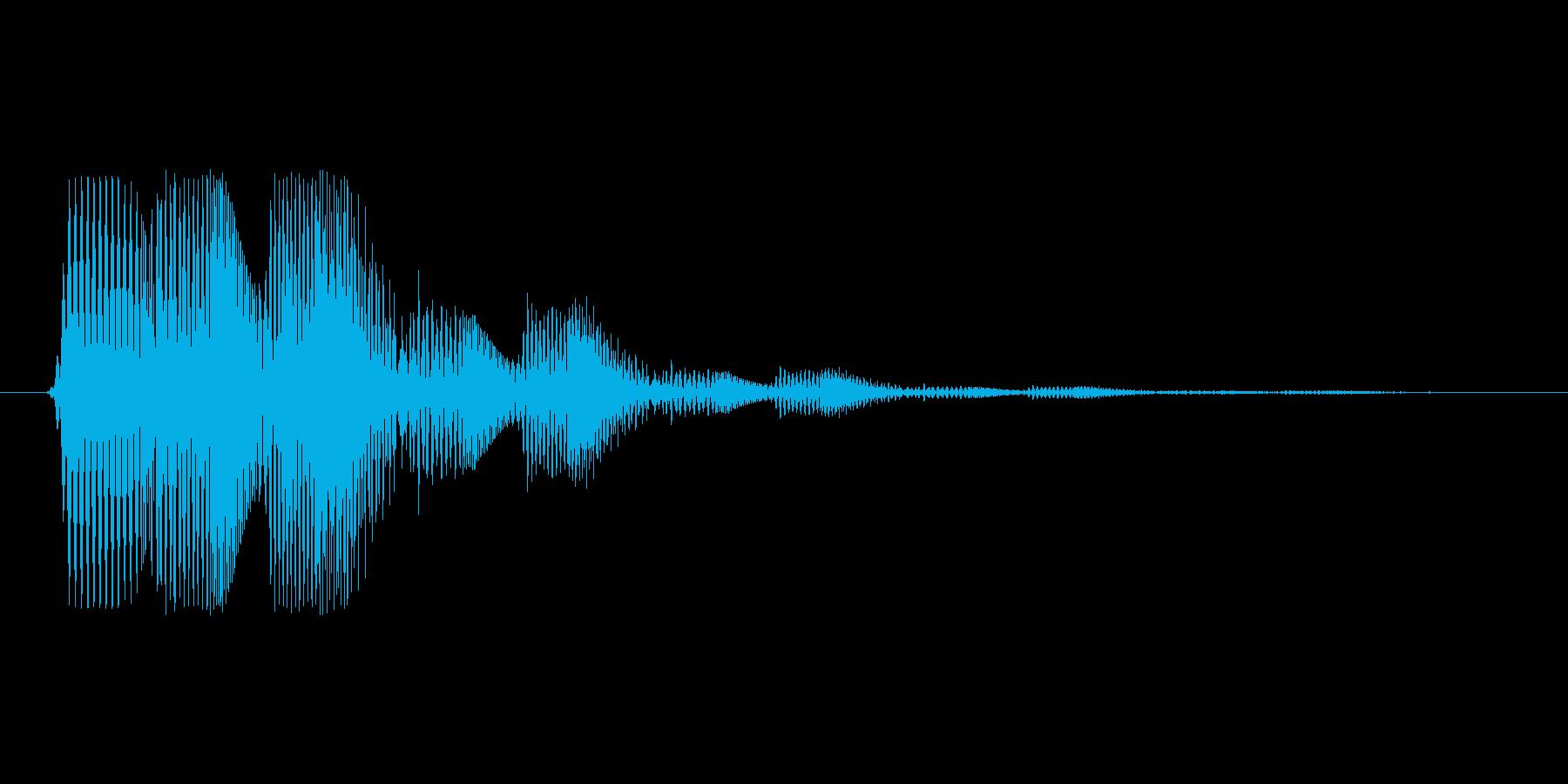 ファミコン風効果音決定音系です 05の再生済みの波形