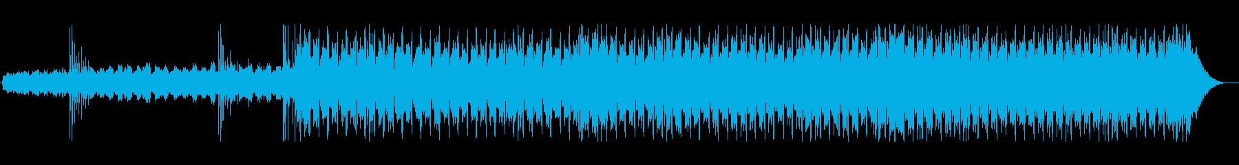まさに80'sのスローな四つ打ちの再生済みの波形