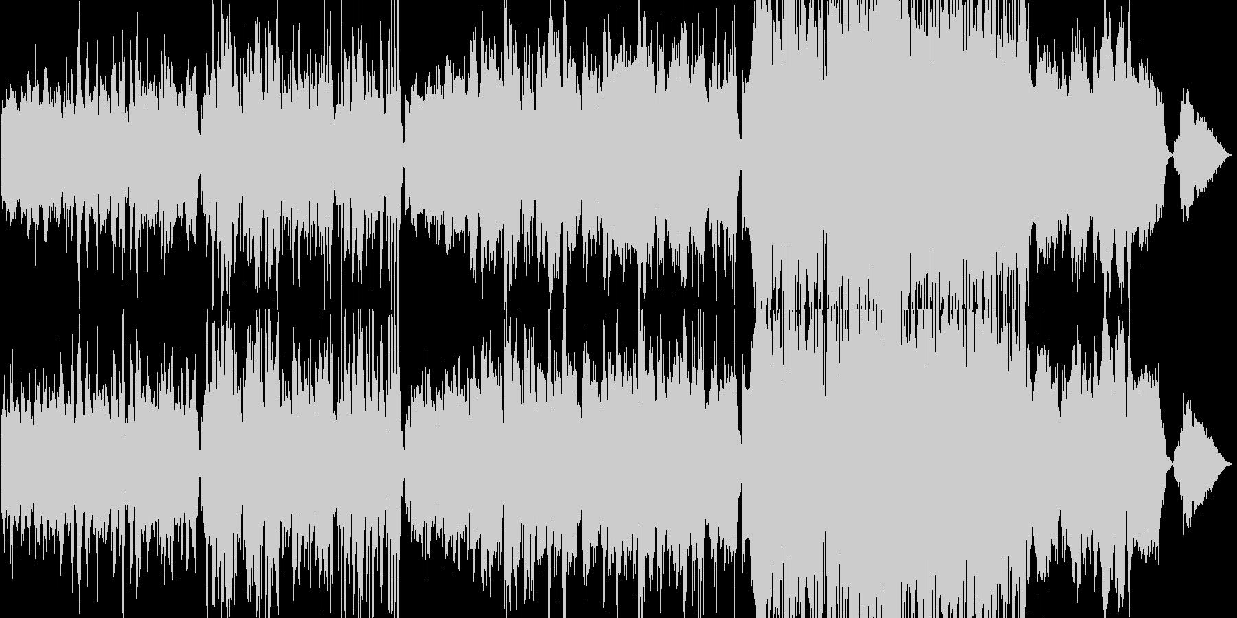 生演奏《ヨーロッパを感じるビオラの曲》の未再生の波形
