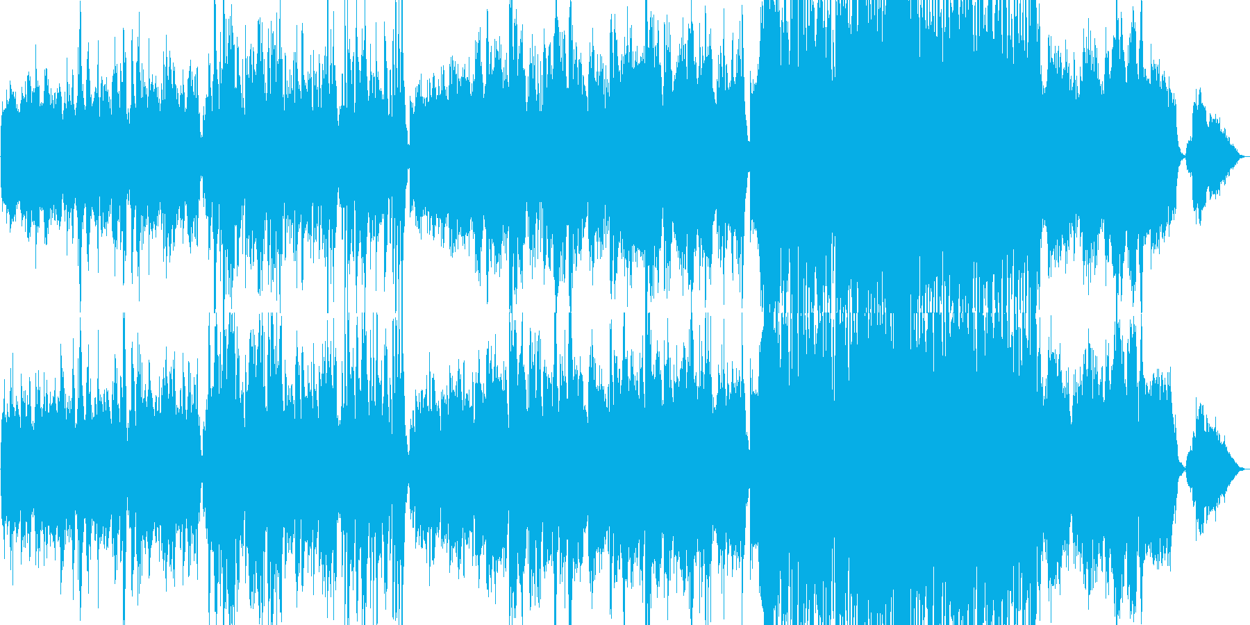 生演奏《ヨーロッパを感じるビオラの曲》の再生済みの波形