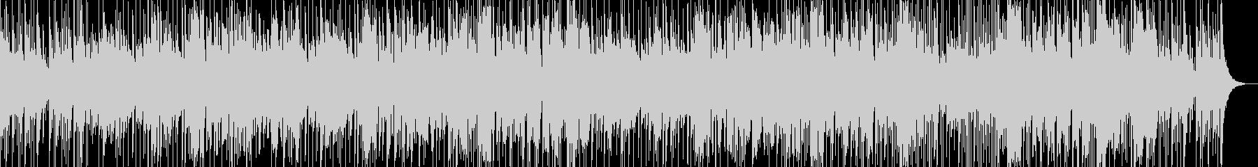 鉄琴主体のポップスの未再生の波形