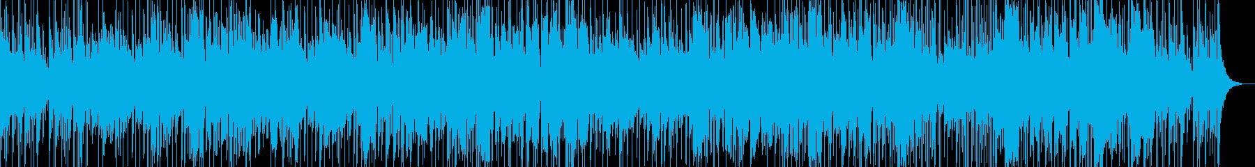 鉄琴主体のポップスの再生済みの波形