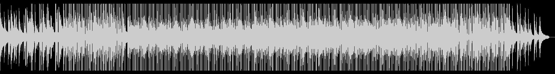 正統派ピアノと生ドラムの癒し系BGMの未再生の波形