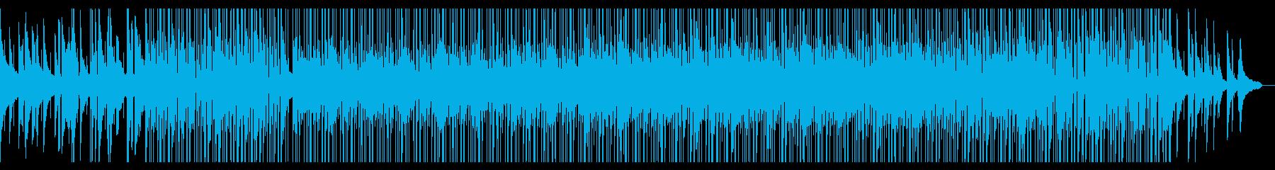 正統派ピアノと生ドラムの癒し系BGMの再生済みの波形