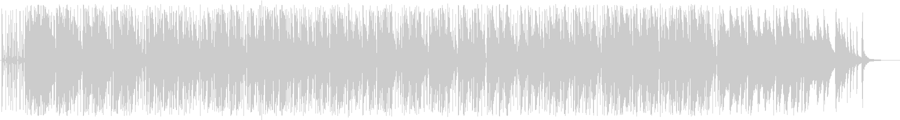 歌モノ曲の別アレンジ、ピアノインスト曲の未再生の波形