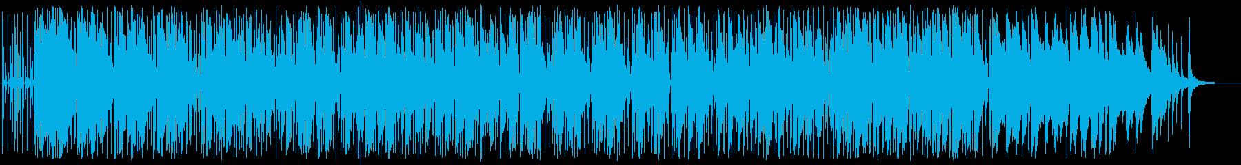 歌モノ曲の別アレンジ、ピアノインスト曲の再生済みの波形