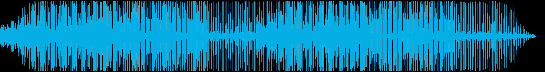 ハイセンスなCMや映像にぴったりな音楽の再生済みの波形