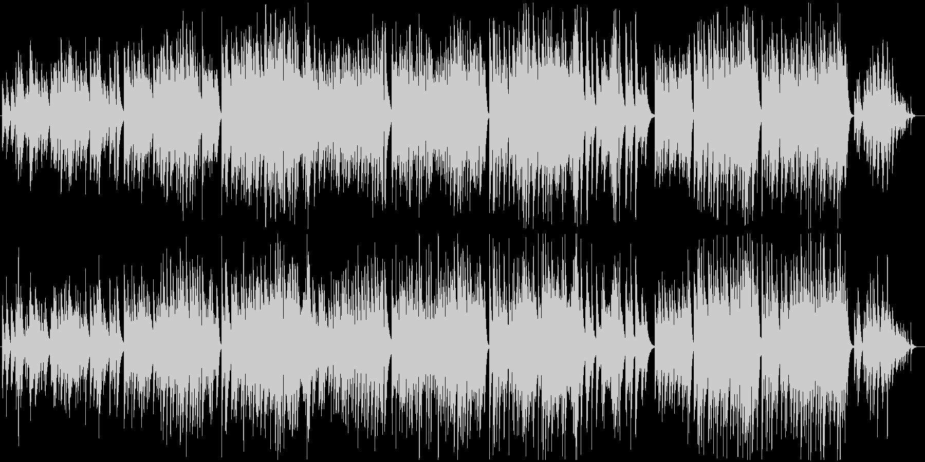 切なく感動的なソロピアノバラードBGMの未再生の波形