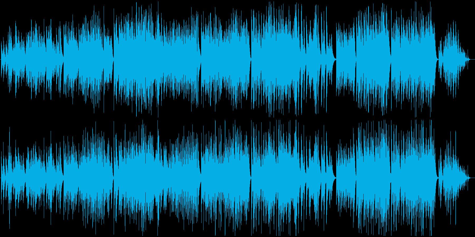 切なく感動的なソロピアノバラードBGMの再生済みの波形