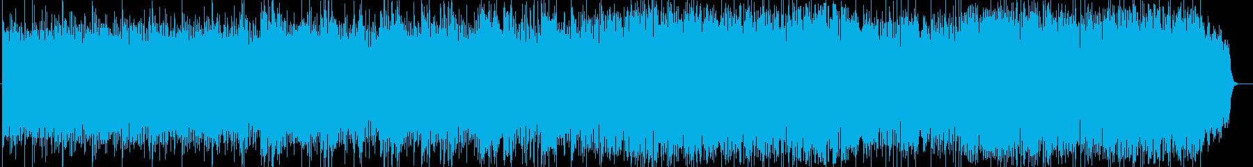 清々しく神秘的シンセ・ピアノなどの曲の再生済みの波形