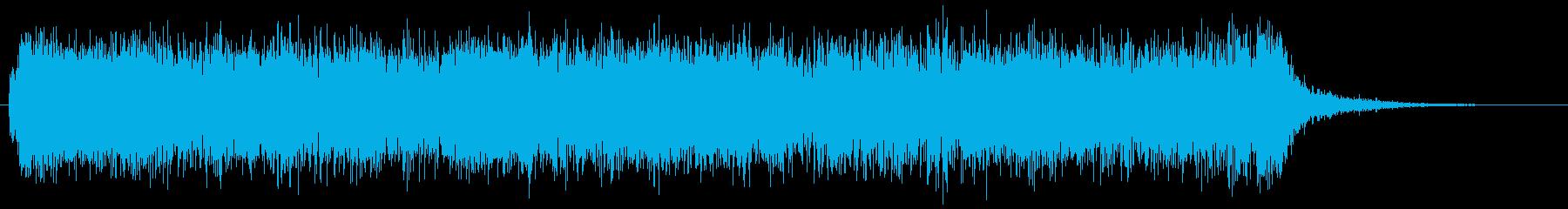 メタルギターフレーズ 様式美 141Bの再生済みの波形