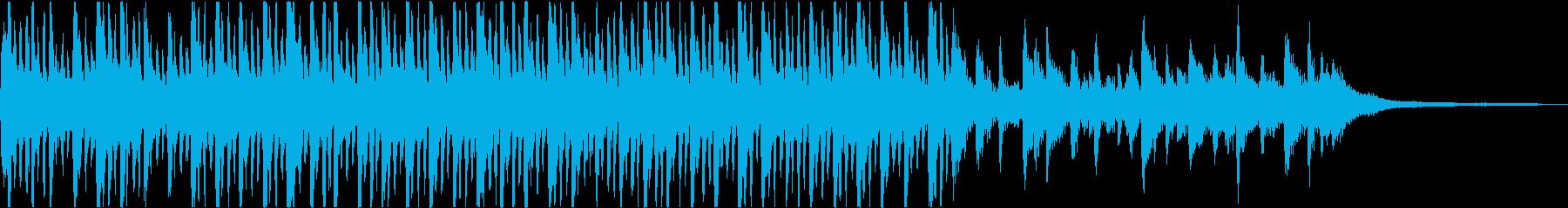 現代の交響曲 劇的な 不条理 奇妙...の再生済みの波形