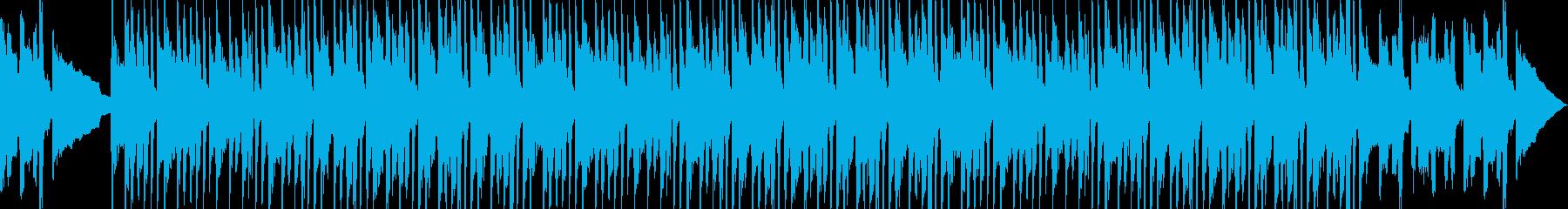 ビンテージドラムマシンの心地よいロ...の再生済みの波形