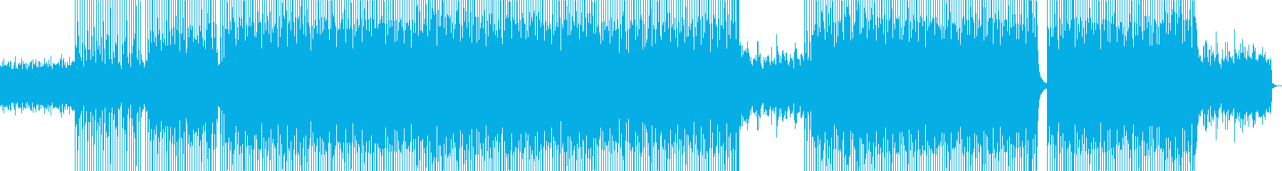 Stylish synth guitar pop's reproduced waveform