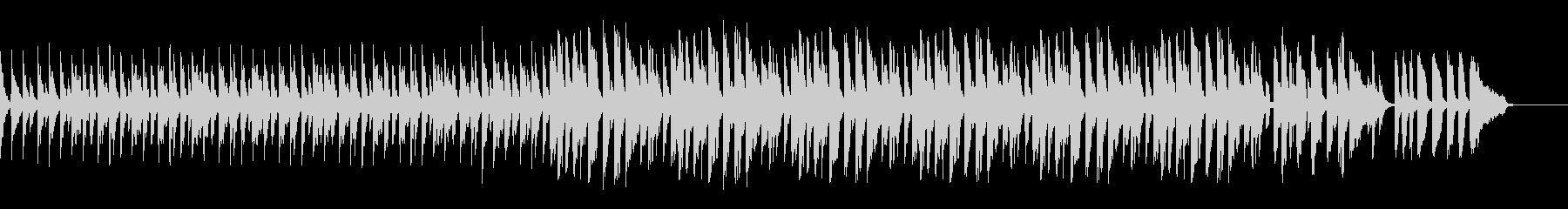 スローテンポドラム、ベース抜きの未再生の波形