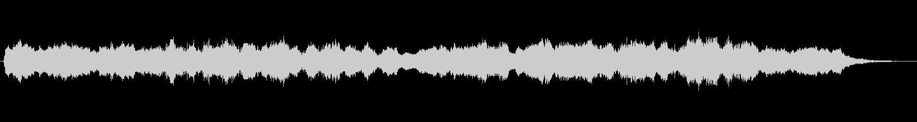 キラキラしたメルヘンチックなジングル5の未再生の波形
