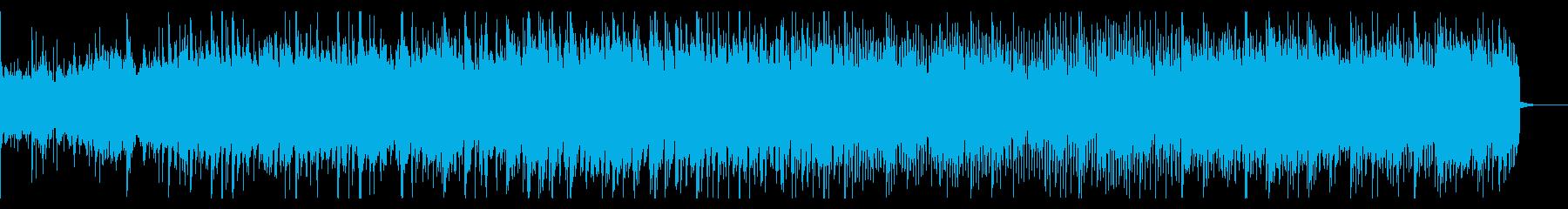 ダークで変化の少ないハウスの再生済みの波形