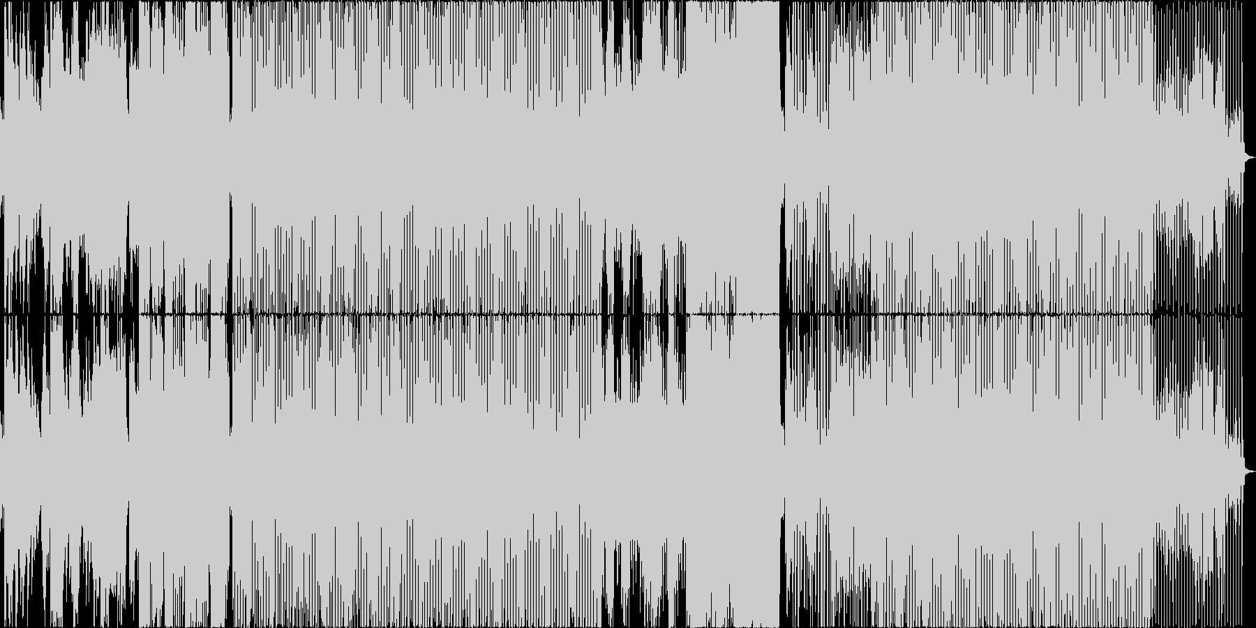 英語詞!エレクトロなソウルミュージックの未再生の波形