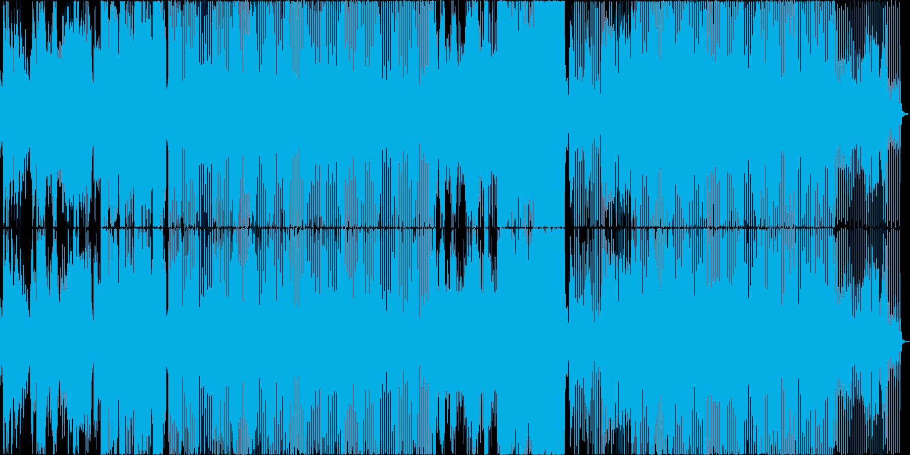 英語詞!エレクトロなソウルミュージックの再生済みの波形