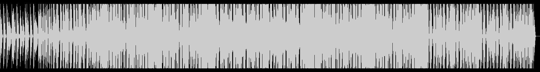 トランペットメインのエレクトロスウィングの未再生の波形