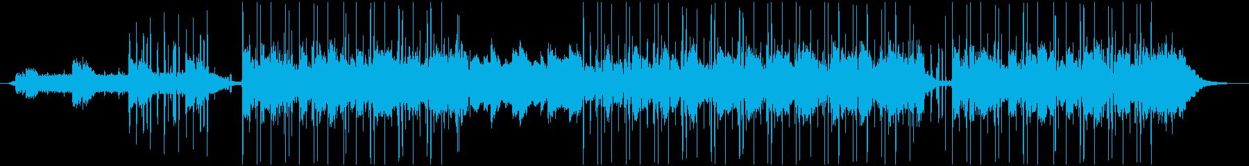 ゆったりとした、スモーキーなチルホップの再生済みの波形