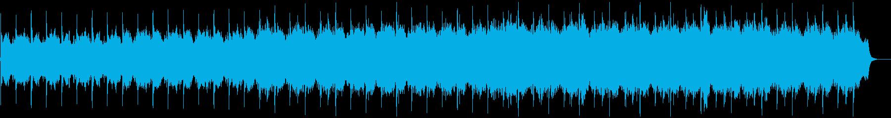 リラックスできるヒーリング系オーケストラの再生済みの波形