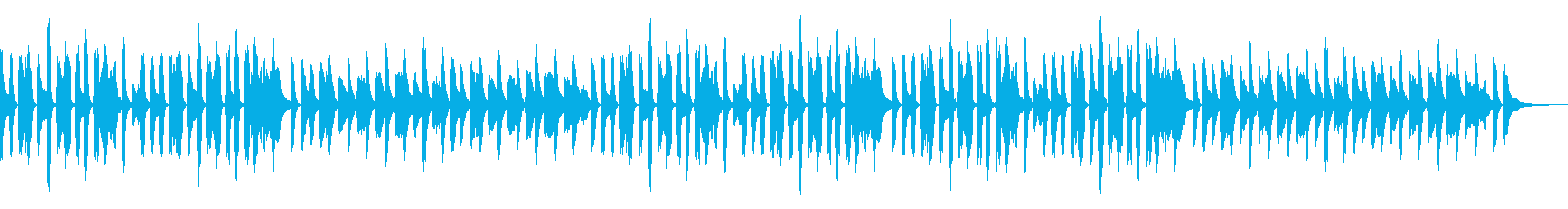 リコーダー・ゆるい会話やお話の再生済みの波形