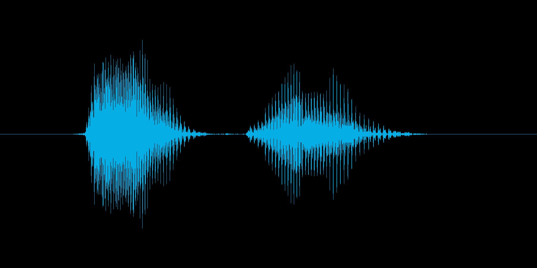 第二問の再生済みの波形
