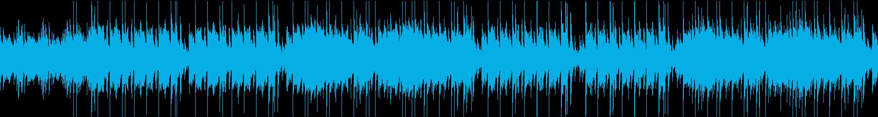 Refreshing violin / karaoke / loop's reproduced waveform