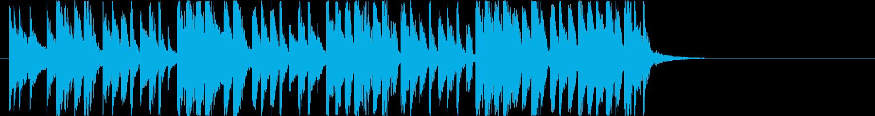 【南国効果音】一緒に行こうの再生済みの波形
