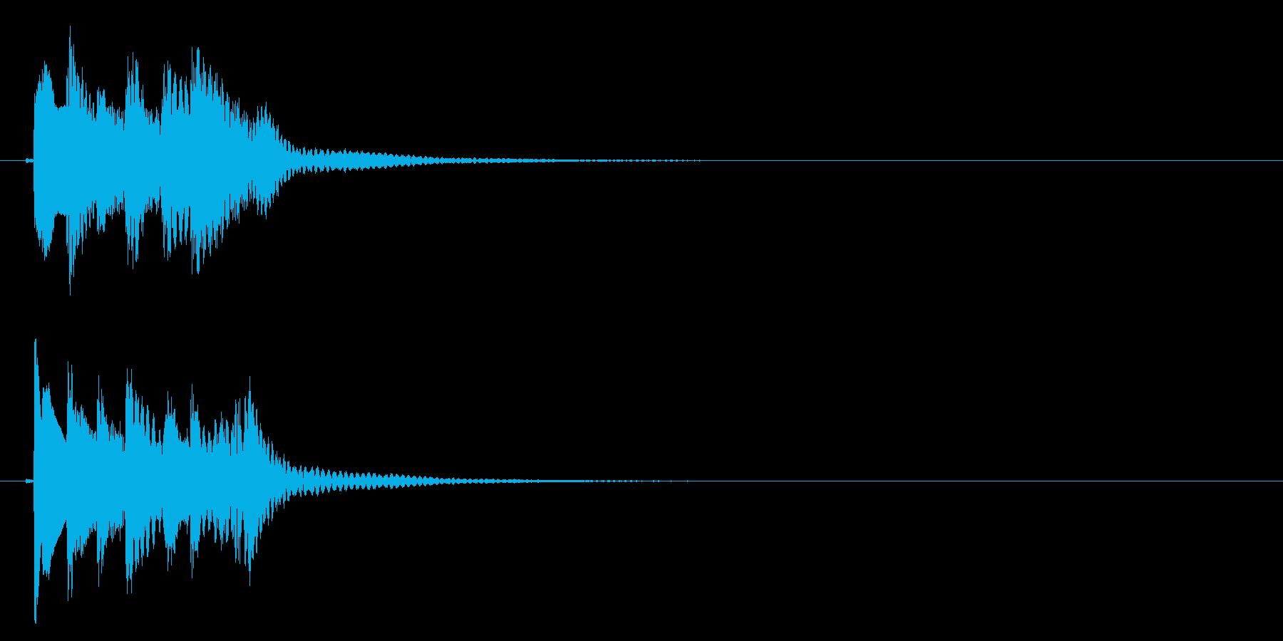 琴のフレーズ2☆調律2の再生済みの波形