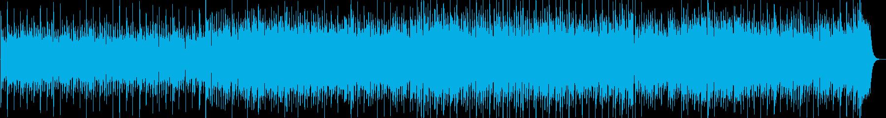 不気味で楽しいハロウィン風BGMの再生済みの波形