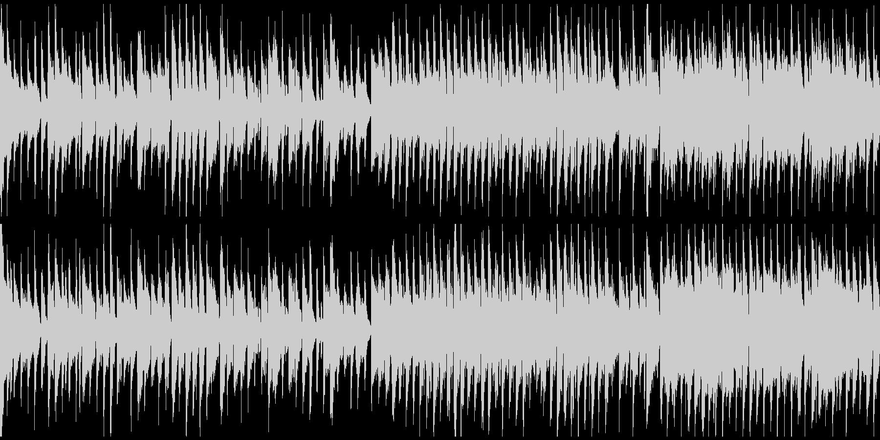 マヌケな雰囲気の脱力リコーダー※ループ版の未再生の波形