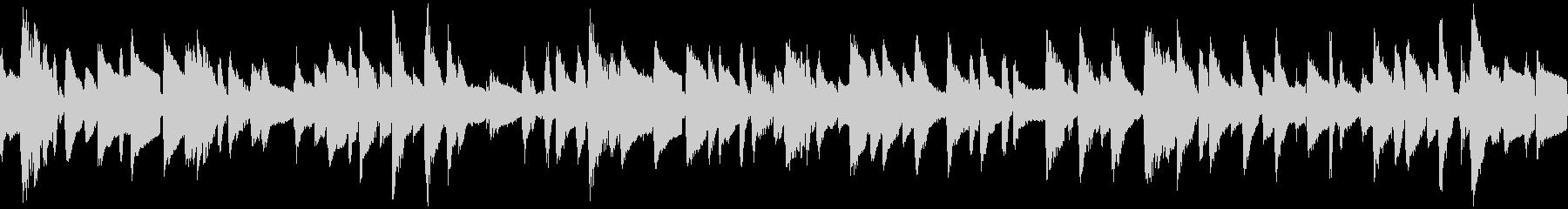 ジャズ・ピアノトリオのBGM:ループの未再生の波形