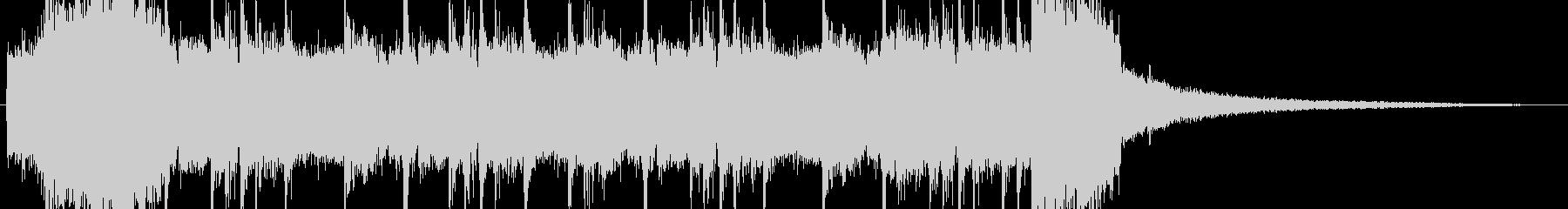 バトルシーン・ギターロックの未再生の波形