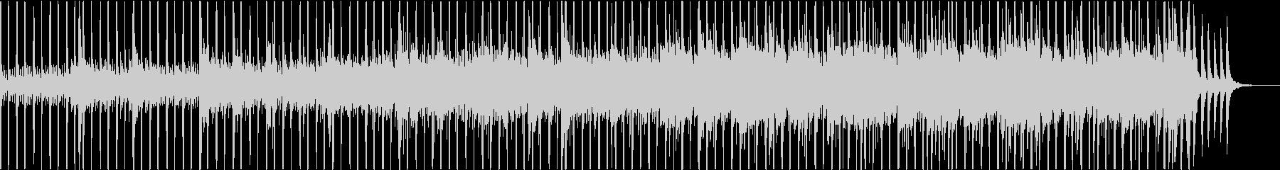 北欧の冬の透明感をピアノウクレレでの未再生の波形