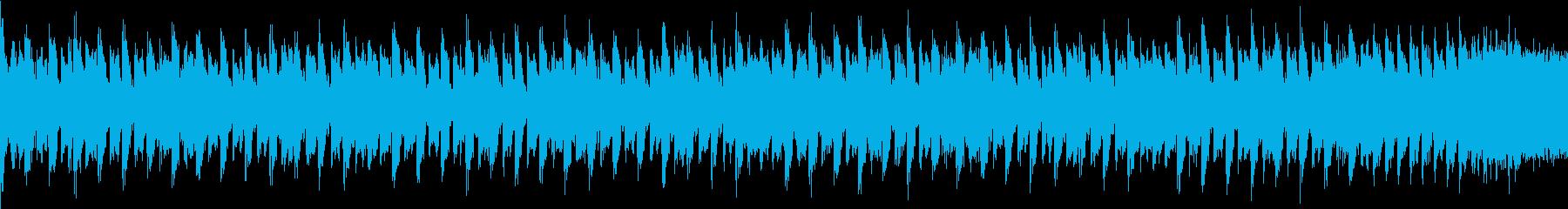 テンションが上がる真夏のシンセEDMの再生済みの波形